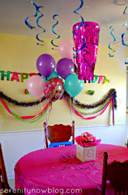 birthday party decorations at home decoration ideas for s