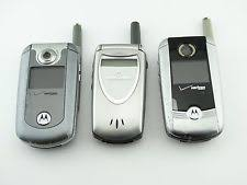 motorola flip phones. one lot of 3 motorola 60i v710 \u0026 e815 h/w flip phone verizon phones o