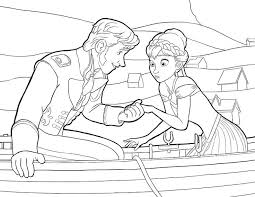 Small Picture 86 best Frozen images on Pinterest Frozen coloring pages