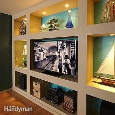 showcase built in bookcase plans diy