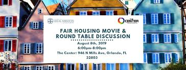 fair housing and round table