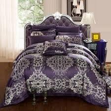 king size purple comforter sets bedroom white iron little girls bed using bedding 12