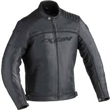 badass ixon motorcycle jacket black new