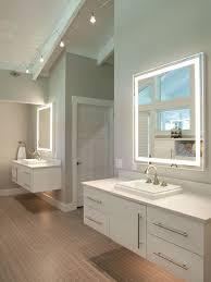ceiling track lighting bathroom design ideas remodels photos regarding bathroom track lighting prepare