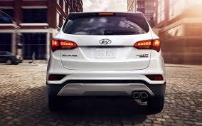 2018 hyundai line. perfect line 2018 hyundai santa fe hybrid new hyundai santa fe sport rear view car  models 2017 throughout line e