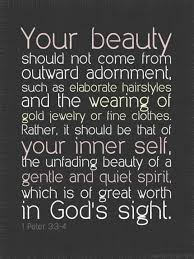 Quotes About Inner Beauty And Love Best of ESV Study Bible Day 24 The Truth About Inner Beauty PhyQuirks