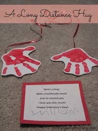 I Love You Crafts A Long Distance Hug My Cute Preschoolers Craft For Valentines