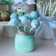 Mason Jar Display For Sweets On A Stick Makeful