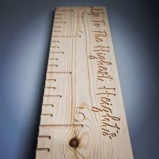 Wooden Height Chart Solid Wooden Height Chart Ruler