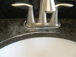 hard water spots out of granite counters vinegar and