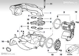 idle control valve in the m43 and other problems please help bmwfans info parts catalog e4 nifold system