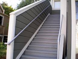 Outdoor Staircase outdoor stair railing ideas latest door & stair design 2109 by xevi.us