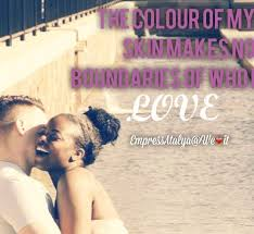 Interracial Love Quotes Inspiration No Boundaries Uploaded By EmpressAtalya On We Heart It