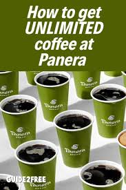 Panera bread will launch a coffee subscription program for $8.99 a month. Free Unlimited Coffee At Panera For 4 Months With Apple Pay Guide2free Samples Panera Coffee Subscription Espresso Drinks