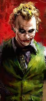 Joker Heath Ledger 4K Wallpaper #139