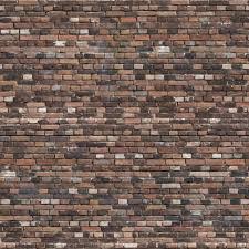 colorfull old brick wall patina free