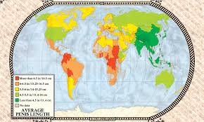 Maps Reveal World Nations Manhood Breast Size Obesity And
