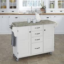 Crosley Furniture Kitchen Cart Crosley Furniture Alexandria Gray Granite Top Kitchen Island