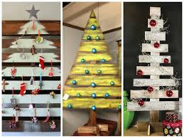 pallet projects for christmas. pallet christmas tree ideas \u2013 creative diy decorations projects for