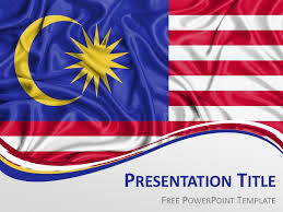 Malaysia Flag Powerpoint Template Presentationgo Com