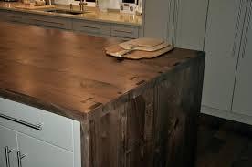 multi plank craftsmen waterfall island minimalist walnut style wood countertops diy wooden premium wide wood plank close up 2 ideas countertops diy