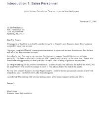 Business Introduction Letter Format In Sample For Company Profile