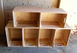 wooden crate on wheels six crates wall unit bookcase storage shelves long extra large with lid wooden crate