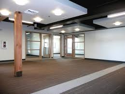 original office. With A Floor-to-floor Height Of Approximately 9 Feet The Original Office Felt