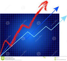 Growth Is Off The Charts Stock Vector Illustration Of