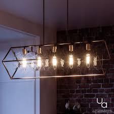 industrial chandelier lighting. UQL2140 Industrial Chandelier, 13.75\ Chandelier Lighting I