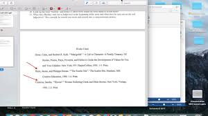 Short Story Essay Works Cited Page Tutorial