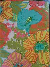 vintage flower sheets vintage springmaid wondercale twin flat sheet mod flower power retro