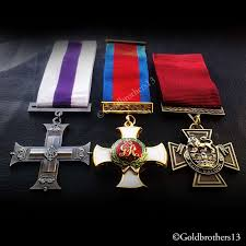 military cross distinguished service order and victoria cross medals set detail seven british army medals