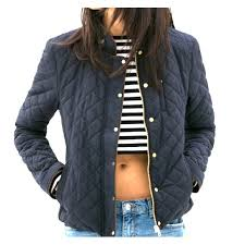 50% off Zara Outerwear - ❄ Zara Contrasting Quilted Jacket in ... & Zara Contrasting Quilted Jacket in Navy ❄️ Adamdwight.com