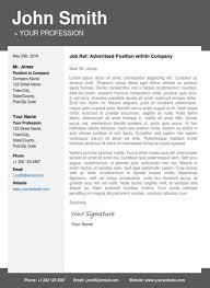 Modern Resume Cover Letters Modern Resume And Cover Letter Template Deltabank Info