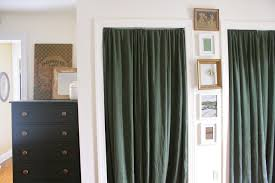 Closet Door Curtain Track with sizing 3888 X 2592