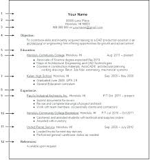 Student Resume Templates No Work Experience College Student Resume