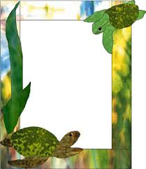 sea turtles picture frame sea turtles overlay picture frame stained glass pattern