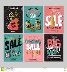 new year badge label promo banner template special offer set of creative holiday website banner templates christmas and new year illustrations stock