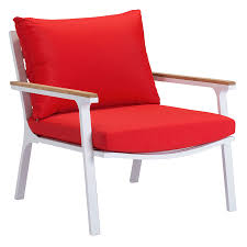 red modern chair mid century chair mid century chair red