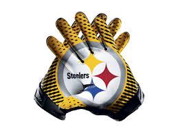 Nike Nfl Stadium Gloves Size Chart Nike Vapor Jet 2 0 Nfl Steelers Mens Football Gloves