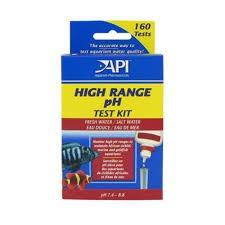 Api Saltwater Master Test Kit Chart Api High Range Ph Liquid Test Kit Fw Sw