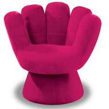 cool green hand seat for teenager Cozy pink chair
