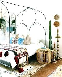 Boho Bed Frame Beds Bed Frame The Regarding New Household Bed Frame ...