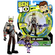 ben 10 cartoon network year 2017 series 5 inch tall figure dr animo with