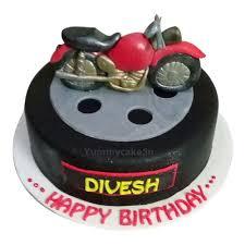 Bike Birthday Cake Online Best Designs Yummycake