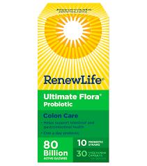 Ultimate Flora Colon Care 80 Billion Active Cultures
