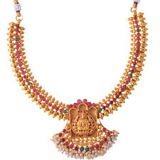 South Indian Jewellery Latest Designs Buy Ganapathy Gems 1 Gram Gold Plated Traditional South