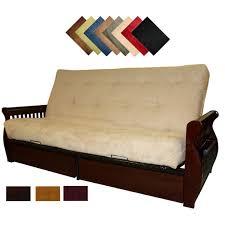 queen futon sofa bed amazing sleeper sofa futon lexington microfiber suede inner spring queen size futon queen futon sofa bed