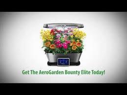 the smart countertop garden aerogarden bounty elite